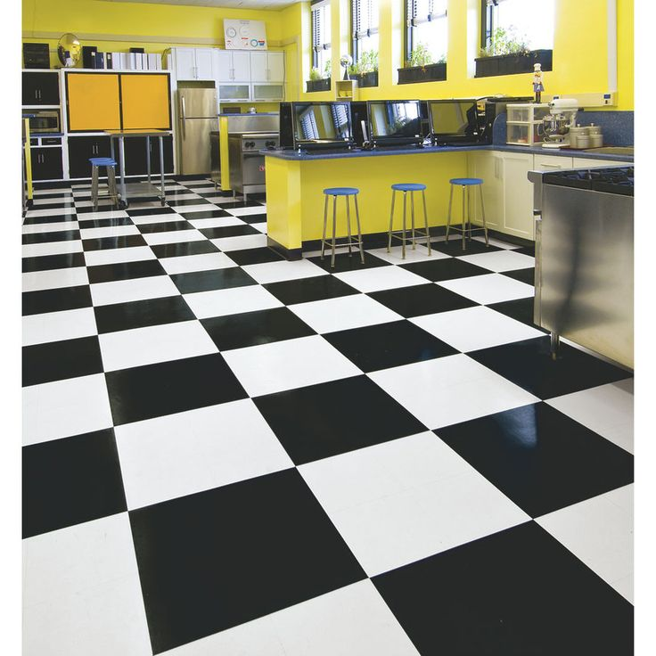 Shop Armstrong 12In x 12In Black Pattern Commercial
