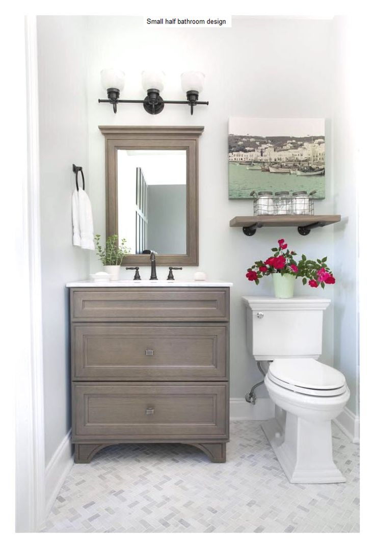 237 best Half Bathroom Ideas Remodel images on Pinterest | Bathroom ...