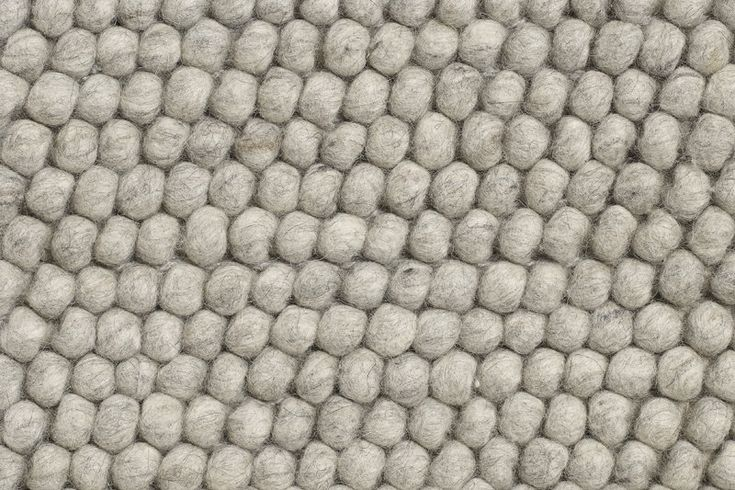 HAY – Peas Teppich – 170 x 240 cm – medium grey