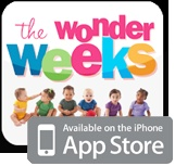 The Wonder Weeks  - excellent book and ap on the 10 fussy periods of a baby.