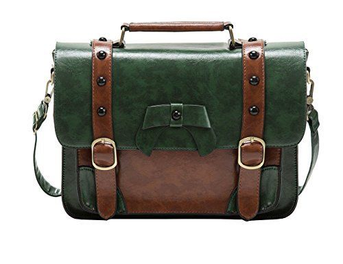 New Trending Briefcases amp; Laptop Bags: ECOSUSI Vintage Crossbody Messenger Bag Briefcase Girl Purse Handbag for Women. ECOSUSI Vintage Crossbody Messenger Bag Briefcase Girl Purse Handbag for Women  Special Offer: $37.99  411 Reviews ECOSUSI Faux Leather Satchel Bag School Message BagThe ECOSUSI Vintage Messenger Purse Girl's School Satchel is very attractive and could be used as a young...