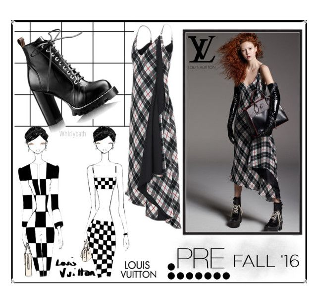 Louis Vuitton Pre Fall 2016 by whirlypath on Polyvore featuring Louis Vuitton