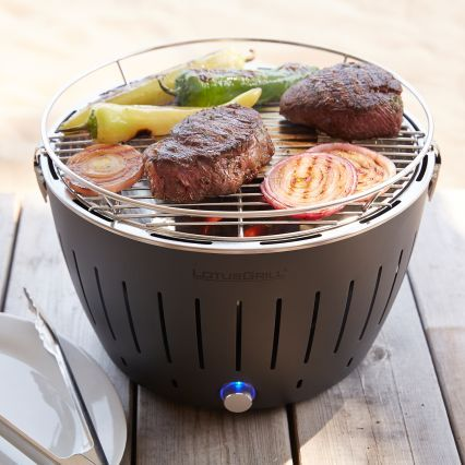 portable grill - ultra fast to heat up and great for camping, boat, beach, tailgating, etc.  Great Father's Day gift!