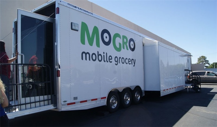 Mogro is a mobile grocery store not a food pantry on for Mobili convenienti