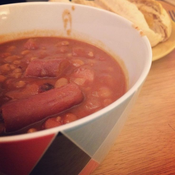 Grown Up Baked Beans and Sausages | Innocent Charms Chats
