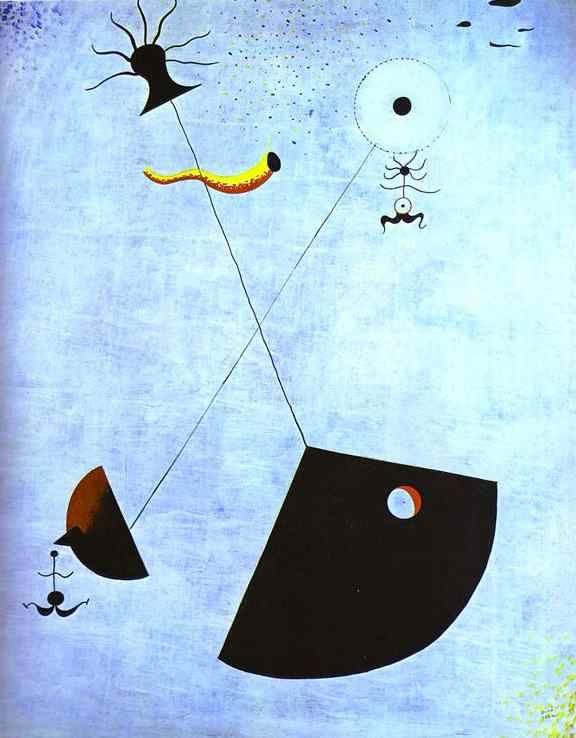 joan miro biography | Joan Miro - Maternity .JPG
