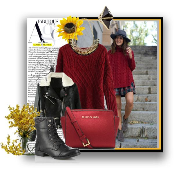 """From fall to winter"" by gelykou on Polyvore"
