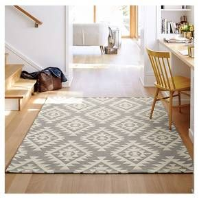 Area Rug Sahara Gray (5'X7') - Threshold™ : Target