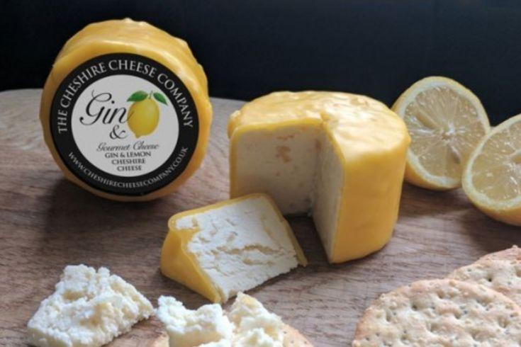 Gin and Lemon Cheshire Cheese