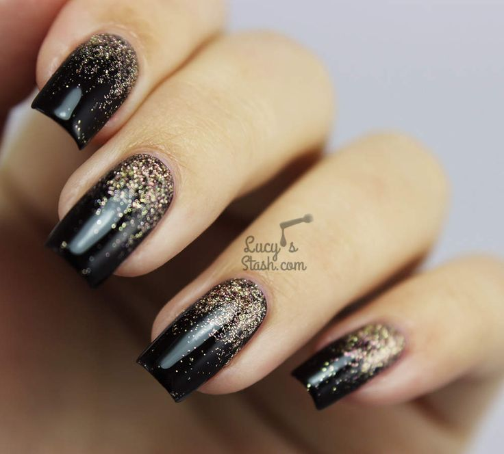 Diy Autumn Gradient Nail Art: 17 Best Ideas About Glitter Gradient Nails On Pinterest