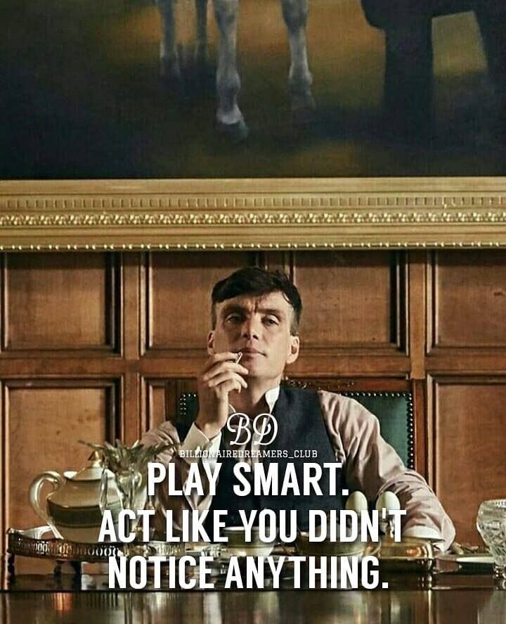 lovely quote by tommy  Classy aesthetic  Peaky blinders