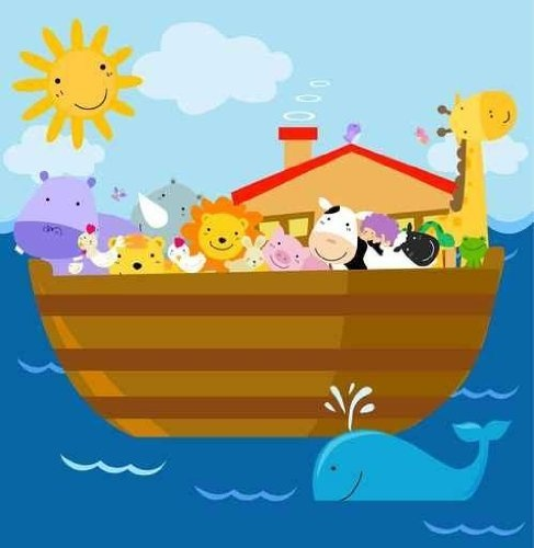 Best The NurseryDecorations Images On Pinterest Noah Ark - Wall decals for church nursery