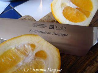 Le Chaudron Magique.: Confiture de cédrat.(à base de Vitpris).