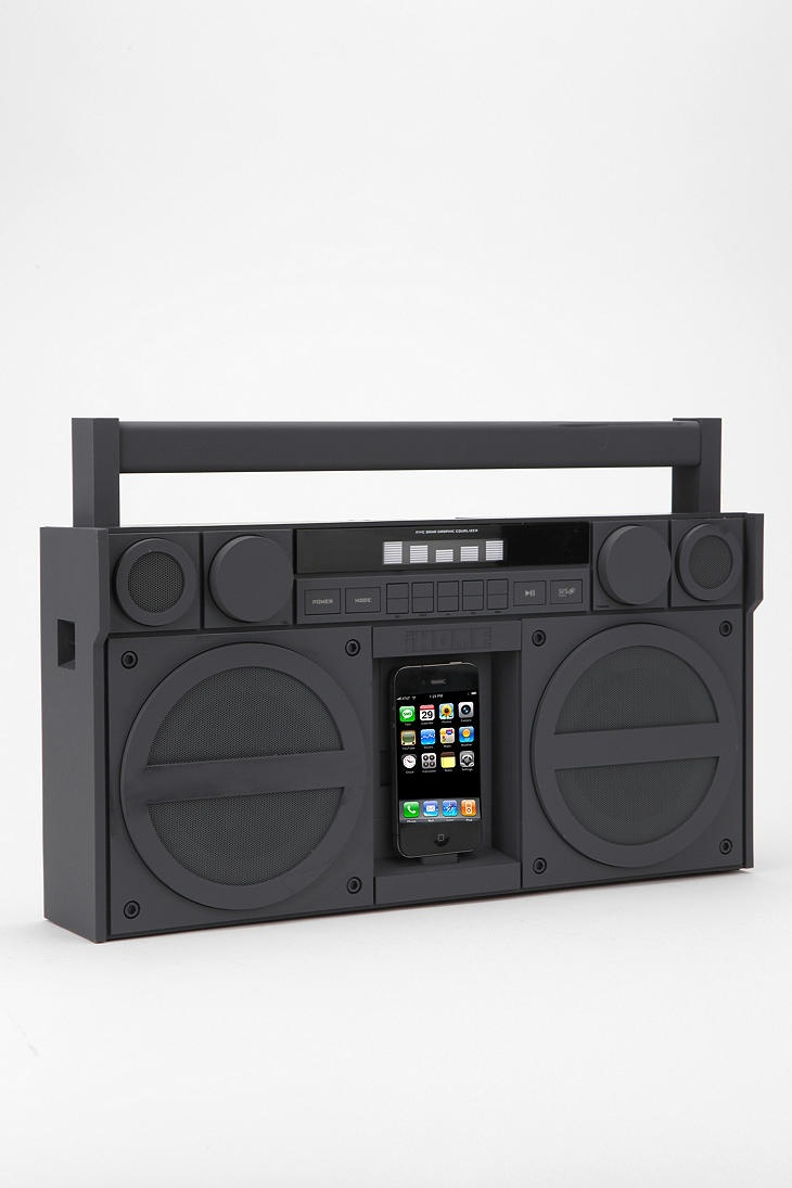 Ghetto blasterOld Schools, Dock System, Urban Outfitters, Ipodiphon Dock, Ipods Iphone Dock, Ihome Ipods Iphone, Pink, Boom Boxes, Boombox