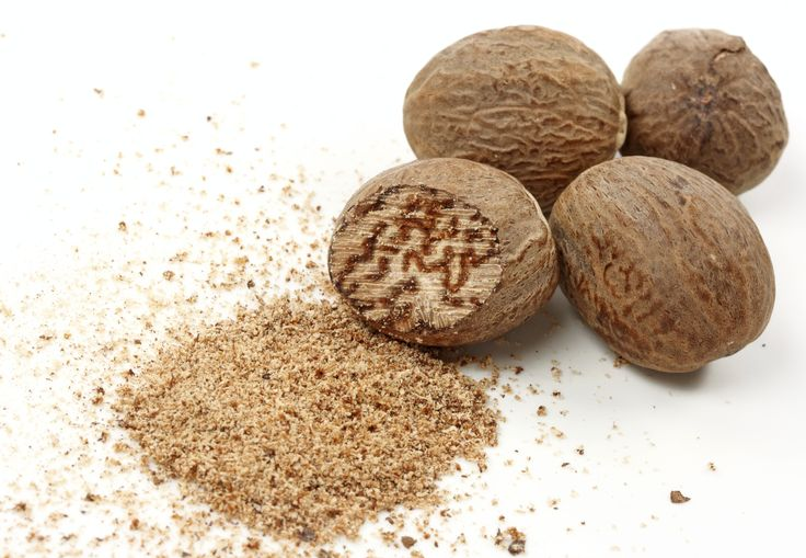 Rich notes of nutmeg