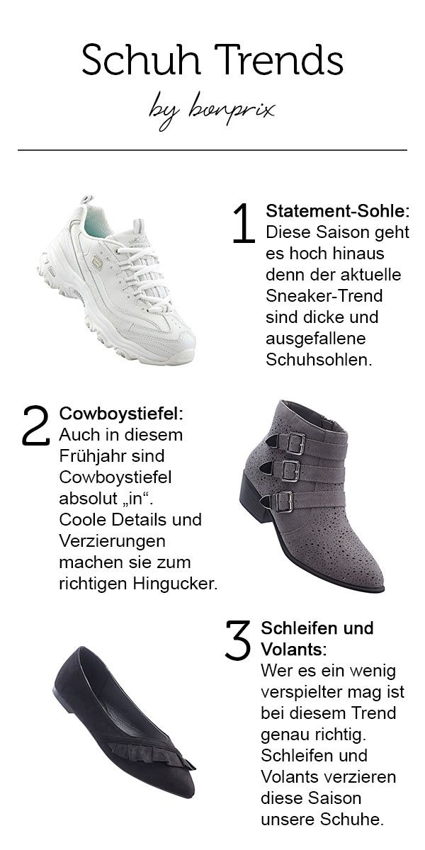 Du bist schon ganz gespannt welche Schuh Trends diese Saison