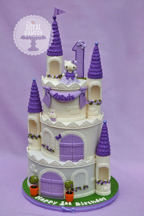 Princess Castle Cake Tutorial by RoyalBakery on Etsy, $5.00