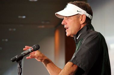 Michigan State football coach Mark Dantonio is a dancing machine when the Spartans win | MLive.com  #MSUCollegeFootball