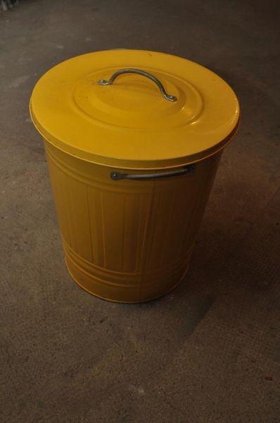 Knodd Abfalleimer von IKEA 40L Gelb