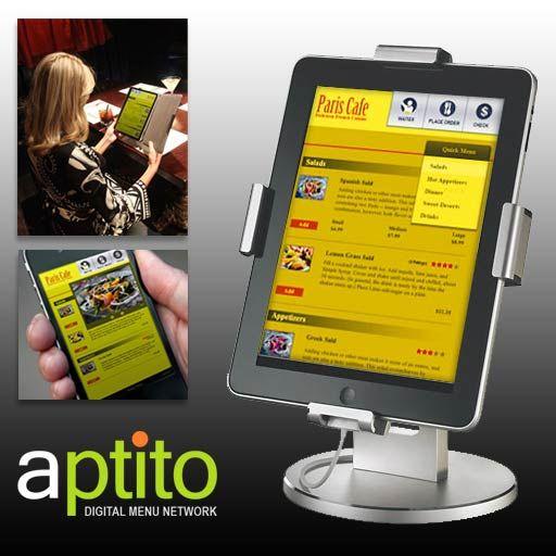 ipad menu in restaurant - Google Search