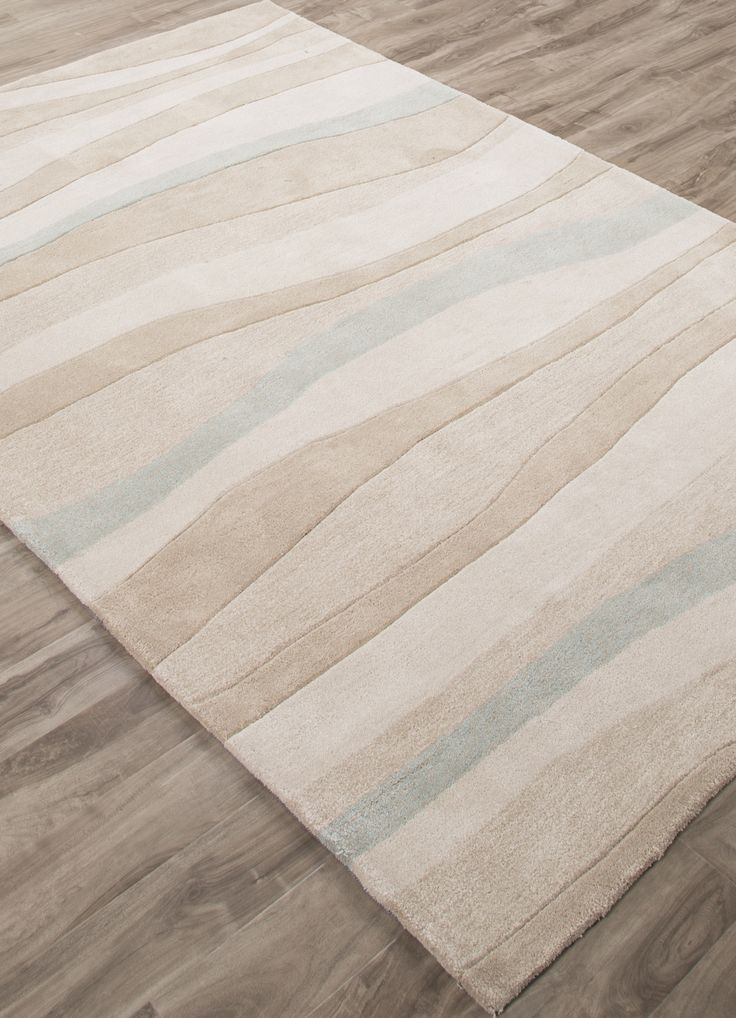 Let this new coastal tide area rug lull you into a state of bliss before ever setting foot on the beach!