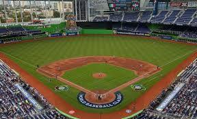 el partido de beisbol en Miami, Florida
