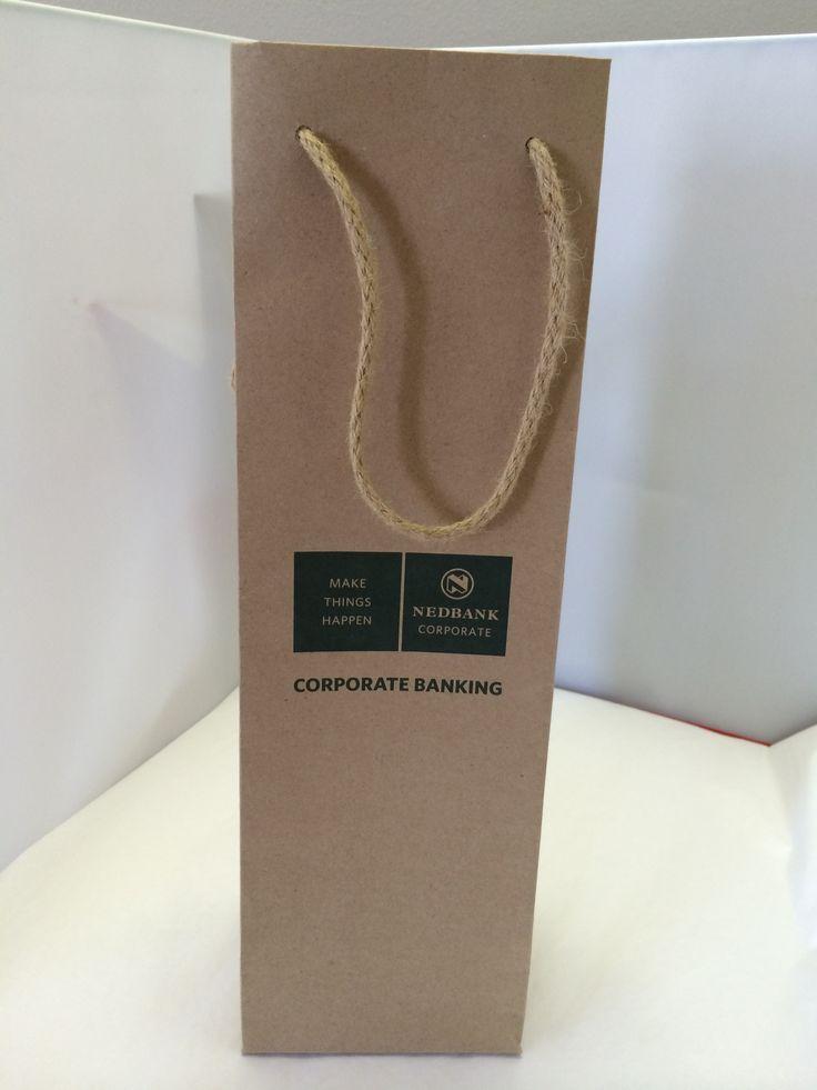 Wine Gift bag Nedbank