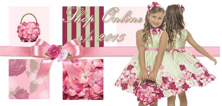 Shop Now Lesy Spring Summer 2015 A blossom wind from Florence lesy.it/boutique #lesy #luxury #madeinitaly #fashion #florence #cutekidsfashion #couturedress #glamour #fashionlife #kidsclothes #kidscollection  #tulleskirt #flowerkidscollection #fashionflowers