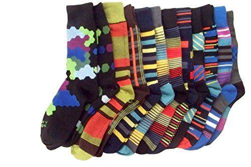 Funky Socks Mens, Set of 12, Sock size 10-13, Styles may vary Funky Socks http://www.amazon.com/dp/B0129HIKS0/ref=cm_sw_r_pi_dp_I8ixwb0EECZ6X