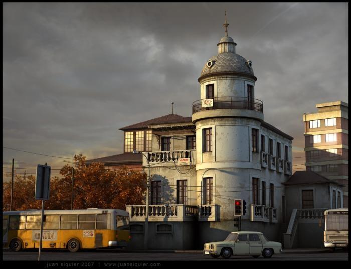 La casa embrujada de Ñuñoa by Juan Siquier
