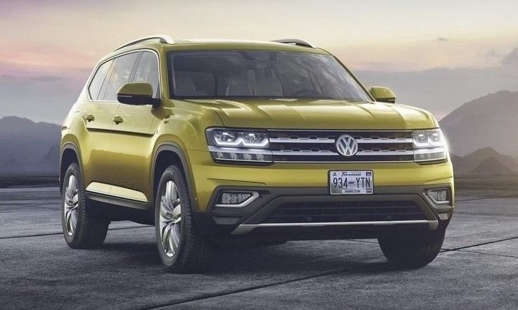 Volkswagen Atlas Revealed, Marks VW's First 7-Seater Large SUV http://www.autotribute.com/45353/volkswagen-atlas-revealed-first-7-seater-large-suv/ #SUV #VW #Volkswagen #FamilyCar #VolkswagenAtlas
