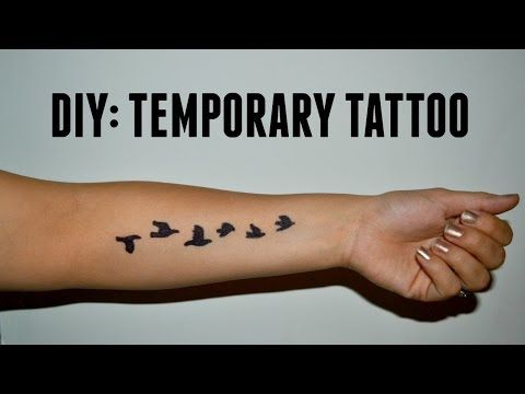 4 Ways to Make a Temporary Tattoo - wikiHow
