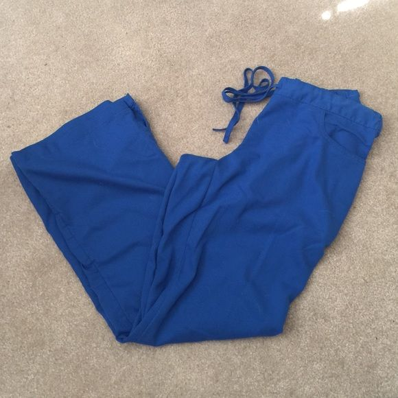 Grey's Anatomy Royal Blue Scrub Pants Never been worn, royal blue color Grey's Anatomy Pants
