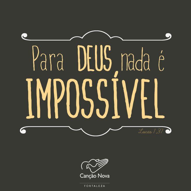 #Deus, #impossível, #fe, #promessa