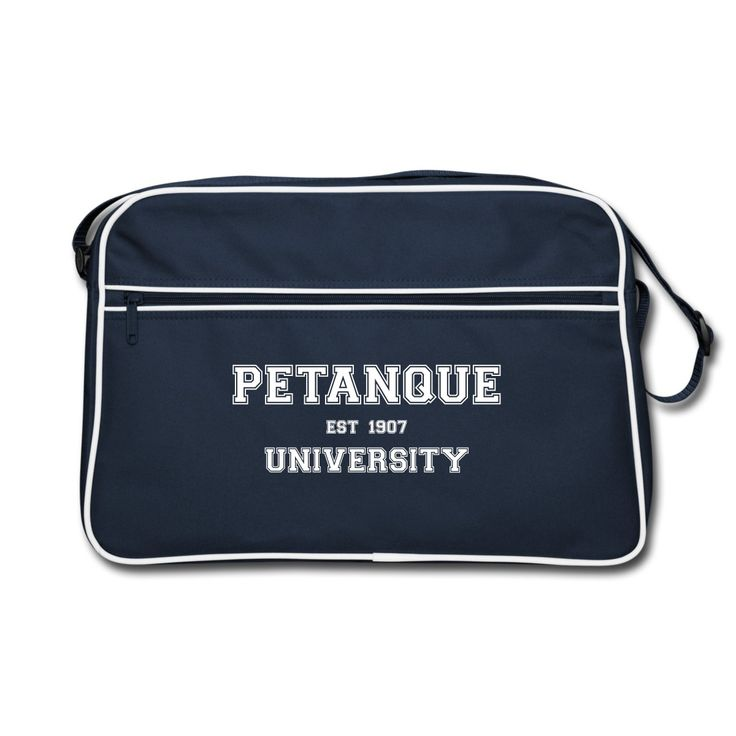 """Retro Bag - Sac Retro - Collection """"Petanque University"""" #extremeboules #pétanqueextrème #streetpetanque #urbanpetanque #extremebocce #petanque #petanca #jeuxdeboules #boules #bocce #bocceball #beautiful #fashion #pretty #fashionstyle #street #shirt #shopping #styleoftheday #comfortable #outfitideas #outfit #trendystyle #inspiration #unique #menswear #clothes #outfitoftheday #mensfashion #shop #boutique #beauty #streetstyle #streetwear #streetwearfashion #urbanwear #hoodie #tshirt #blue"""