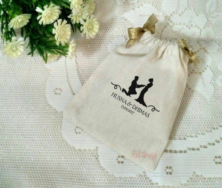 Foto souvenir & gift pernikahan oleh Red Thread Favors