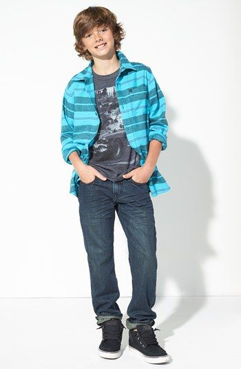 quiksilver plaid shirt jem screenprint tshirt amp joes