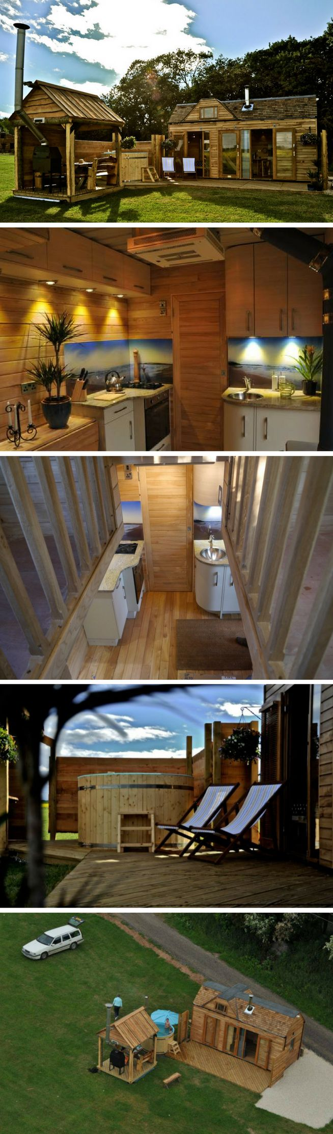 TINYWOOD ONE SHIPPING CONTAINER HOUSE