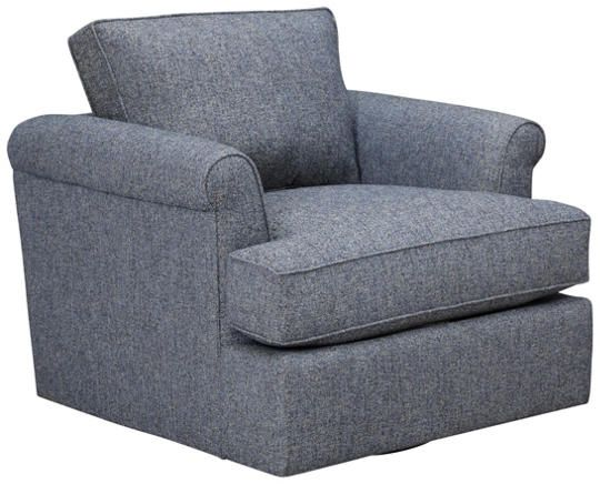 Detroit Sofa Co: Lafayette Accent Chair Swivels And A Special Seat Cushion  Provides Great Comfort