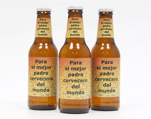 Cerveza personalizada Burbujas