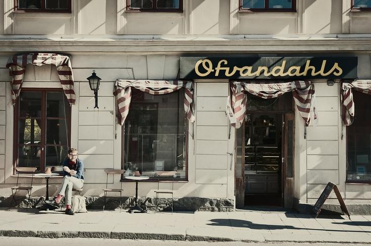 Ofvandahls café, Uppsala © Klas-Herman Lundgren