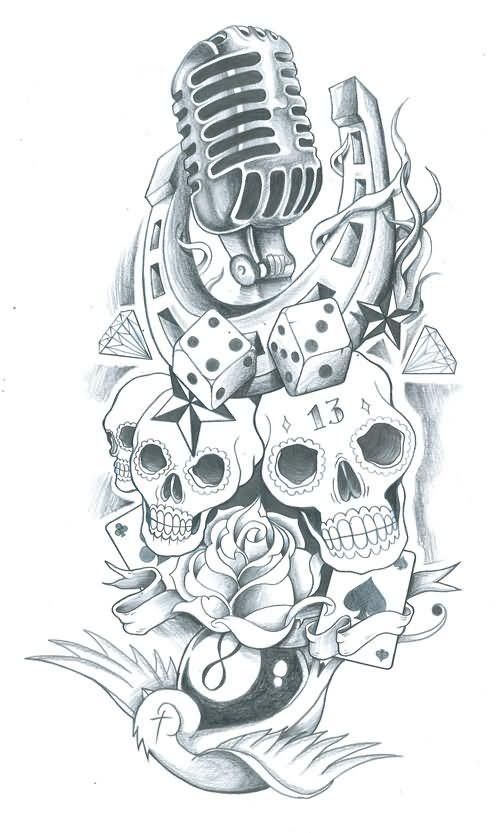 Skull Coloring