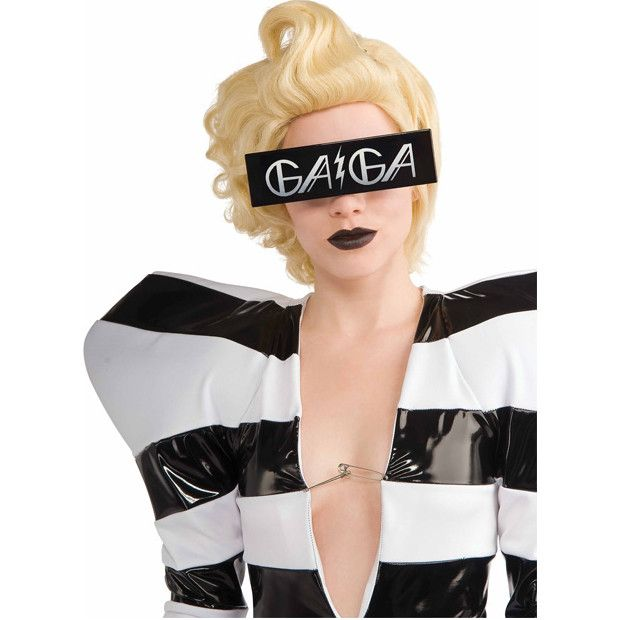 """Cover those peepers with exotic style in these Lady Gaga sunglasses. - """"GAGA"""" text sunglasses - SKU: CA-016559"""