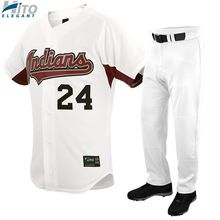 Baseball Uniform Set, Hito Elegant High Quality Custom Sportswear HE-BB-1021