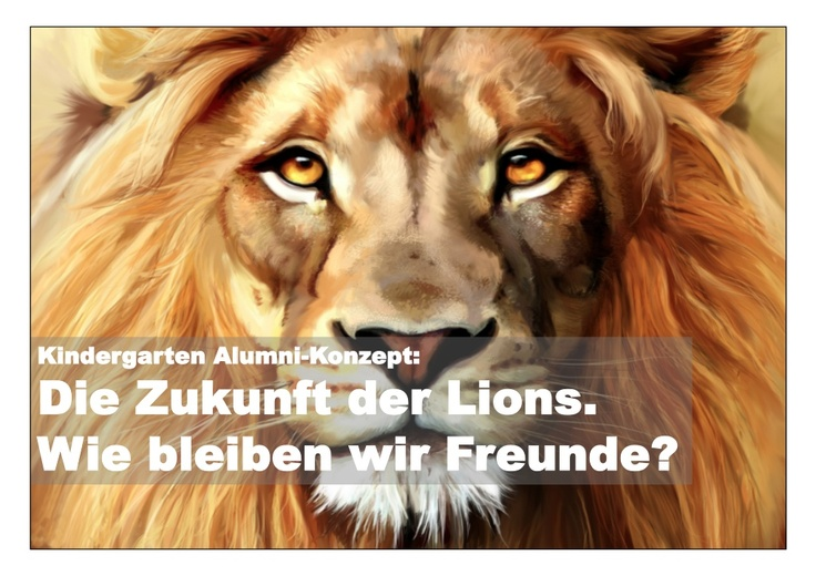 kindergarten-alumnikonzept-lions-pancake-club by Thomas Brasch via Slideshare