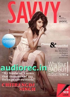 Chitrangada Singh on The Cover Savvy Magazine August 2012. | Bollywood Cleavage