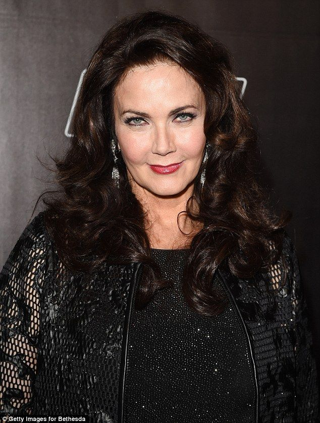 Launch party Lynda Carter wore a lacy all-black ensemble on Thursday to the Fallout 4 launch in Los Angeles
