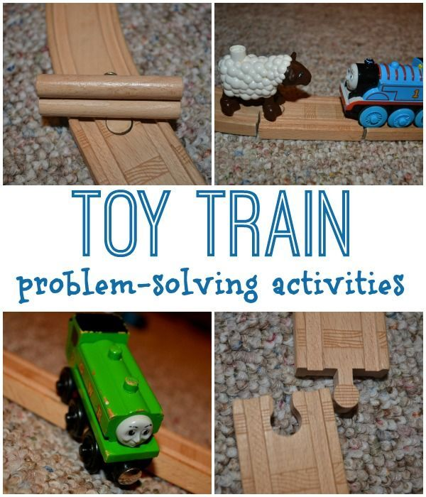 Problem Solving with Toy Trains - The Pleasantest Thing