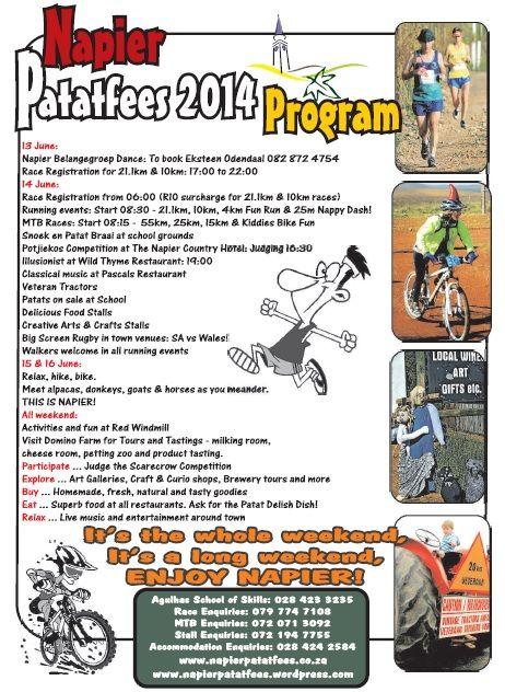 Checkout the Patatfees programme!