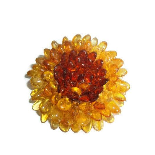 Excited to share the latest addition to my #etsy shop: Amber flower brooch gift for girl woman Flower amber jewelry brooch gift mom Baltic amber flower pendant handmade Gemstone pin gift wife https://etsy.me/2Hys5K5 #ukraenie #bro #boho #stainlesssteel #no #girls #elty
